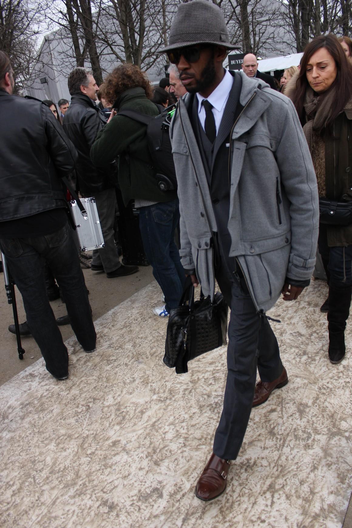 Business Classiness Meets Streetwear